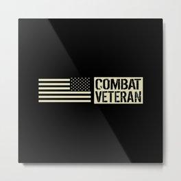 Combat Veteran Metal Print