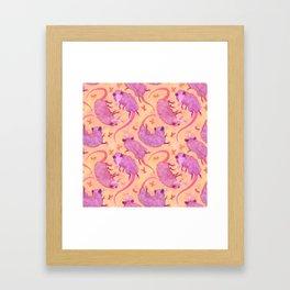 Possum Squad Framed Art Print