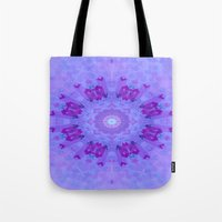 lavender Tote Bags featuring Lavender... by Cherie DeBevoise