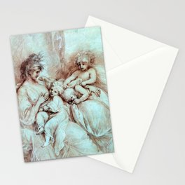 Benjamin West Maternity Stationery Cards