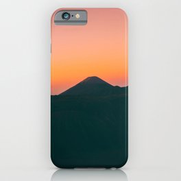 Mount Bromo, Pasuruan, East Java, Indonesia iPhone Case