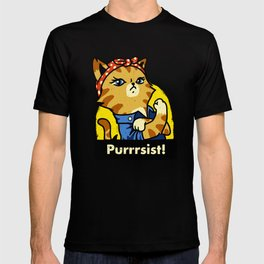 Purrsist! T-shirt