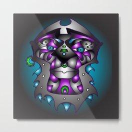 Ashanti-Purple Metal Print