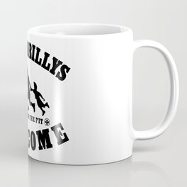 PSYCHOBILLYS WELCOME - COME INTO THE PIT Coffee Mug