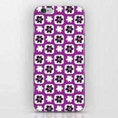 purple flower iPhone & iPod Skin