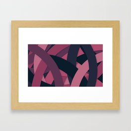 PerSe Pattern Framed Art Print