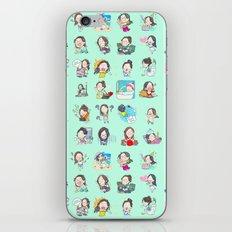 moonsia` iPhone & iPod Skin