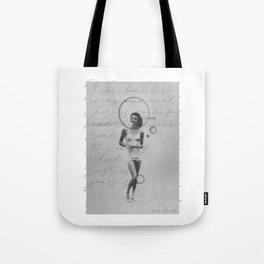 """""""I am alone here in my own mind. There is no map and there is no road...― Anne Sexton Tote Bag"""