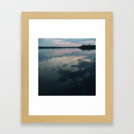 Sunrise Water Framed Art Print