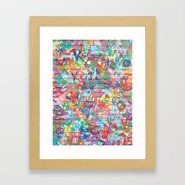DALLAS ART Framed Art Print