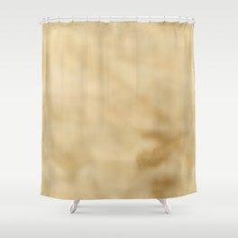 Pale Mottled Champagne Foil Shower Curtain