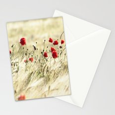 A POPPY  POEM Stationery Cards