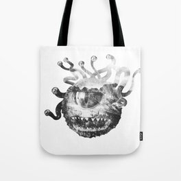 Beholder (Black & White) Tote Bag
