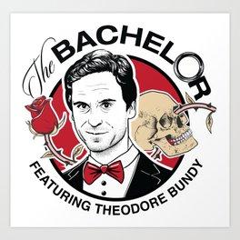 Ted Bund - The Bachelor Art Print