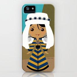 Girls of the World: Uzbekistan iPhone Case