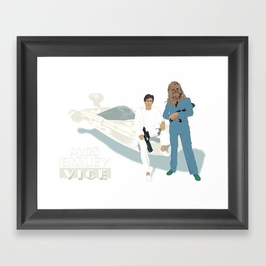 Mos Eisley Vice Framed Art Print