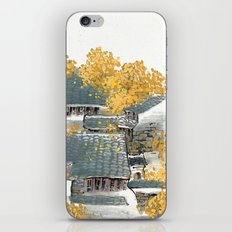 Yellow Village iPhone & iPod Skin