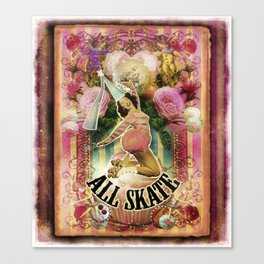 All Skate Canvas Print