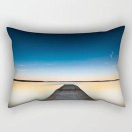 Skinny dipping Rectangular Pillow