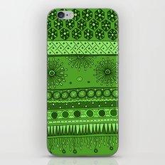 Yzor pattern 007 green iPhone & iPod Skin