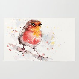 Adventure Awaits (Baby Robin Red Breast) Rug