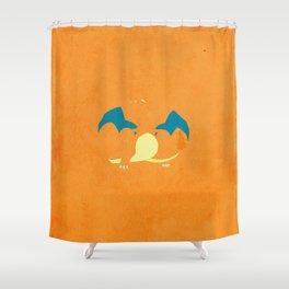 006 chrzrd Shower Curtain