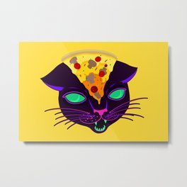 Delicious Cat Metal Print