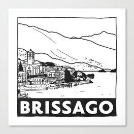 Brissago, Lago Maggiore, Italy Canvas Print