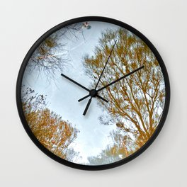 Mirror to the soul Wall Clock
