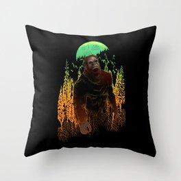 Sasquatch Berserker  Throw Pillow