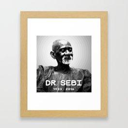 Dr. Sebi Framed Art Print