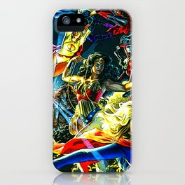 wanits super woman iPhone Case