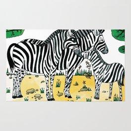 Noah's Ark - Zebra Rug
