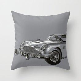 THE Bond Car. Throw Pillow