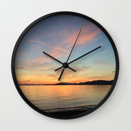 Ocean Calm VII Wall Clock