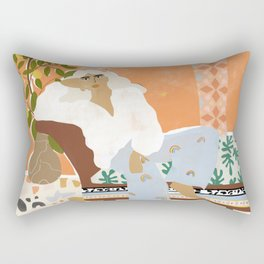 There is always Sunshine after Rain Rectangular Pillow