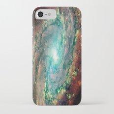 Spiral Galaxy Slim Case iPhone 8