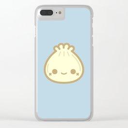 Yummy cute steamed bun Clear iPhone Case