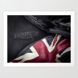 Triumph Motorcycles Art Print