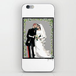 The Duke & Duchess Of Sussex iPhone Skin