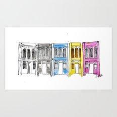 George Town, Penang Art Print