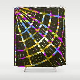 Sgraffito Fan Shower Curtain