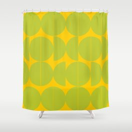 Couples and Singles Shower Curtain