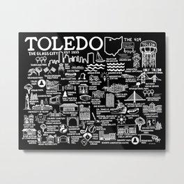 Toledo Ohio Metal Print