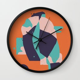 Lifeform #1 Wall Clock