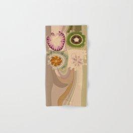 Carpincho Wraith Flower  ID:16165-041255-38370 Hand & Bath Towel