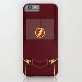 Superheroes phone | The Flash #1 version iPhone Case