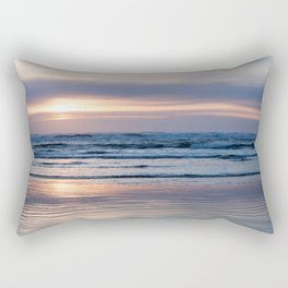 Beach Glow Rectangular Pillow