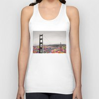 france Tank Tops featuring It's in the Water by Bianca Green