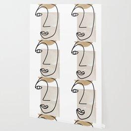 Line Art, She I Wallpaper